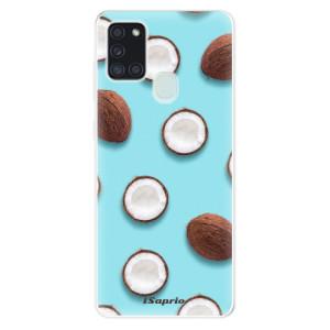Odolné silikonové pouzdro iSaprio - Coconut 01 na mobil Samsung Galaxy A21s