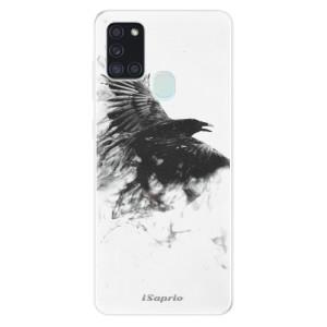 Odolné silikonové pouzdro iSaprio - Dark Bird 01 na mobil Samsung Galaxy A21s