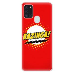 Odolné silikonové pouzdro iSaprio - Bazinga 01 na mobil Samsung Galaxy A21s