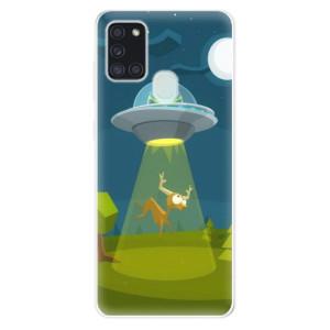Odolné silikonové pouzdro iSaprio - Alien 01 na mobil Samsung Galaxy A21s
