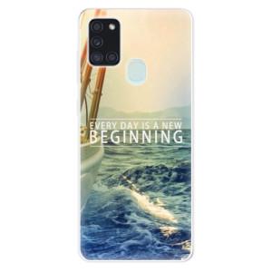 Odolné silikonové pouzdro iSaprio - Beginning na mobil Samsung Galaxy A21s