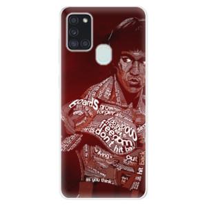 Odolné silikonové pouzdro iSaprio - Bruce Lee na mobil Samsung Galaxy A21s