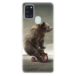 Odolné silikonové pouzdro iSaprio - Bear 01 na mobil Samsung Galaxy A21s