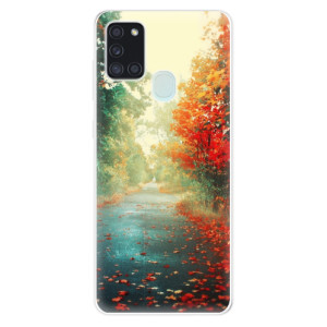 Odolné silikonové pouzdro iSaprio - Autumn 03 na mobil Samsung Galaxy A21s
