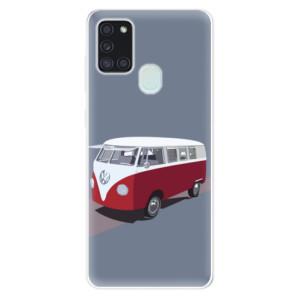 Odolné silikonové pouzdro iSaprio - VW Bus na mobil Samsung Galaxy A21s