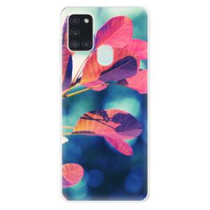 Odolné silikonové pouzdro iSaprio - Autumn 01 na mobil Samsung Galaxy A21s