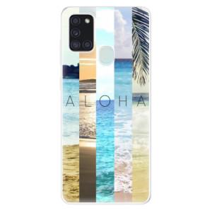 Odolné silikonové pouzdro iSaprio - Aloha 02 na mobil Samsung Galaxy A21s