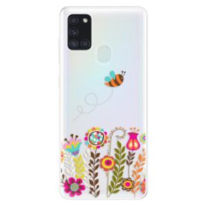 Odolné silikonové pouzdro iSaprio - Bee 01 na mobil Samsung Galaxy A21s