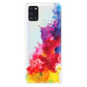 Odolné silikonové pouzdro iSaprio - Color Splash 01 na mobil Samsung Galaxy A21s