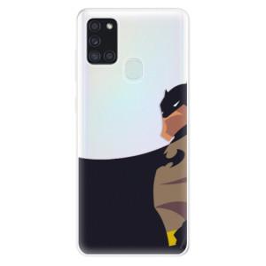Odolné silikonové pouzdro iSaprio - BaT Comics na mobil Samsung Galaxy A21s