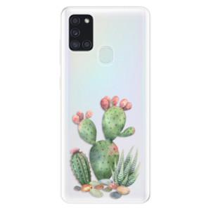 Odolné silikonové pouzdro iSaprio - Cacti 01 na mobil Samsung Galaxy A21s