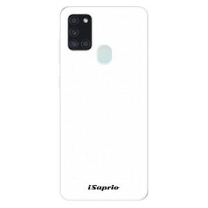 Odolné silikonové pouzdro iSaprio - 4Pure - bílé na mobil Samsung Galaxy A21s