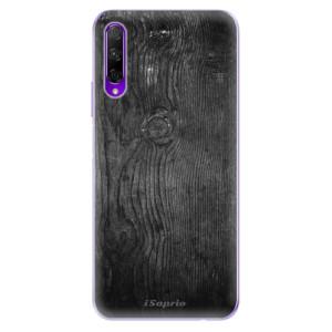Odolné silikonové pouzdro iSaprio - Black Wood 13 na mobil Honor 9X Pro