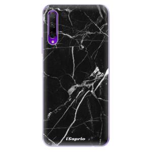 Odolné silikonové pouzdro iSaprio - Black Marble 18 na mobil Honor 9X Pro