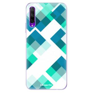 Odolné silikonové pouzdro iSaprio - Abstract Squares 11 na mobil Honor 9X Pro
