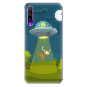 Odolné silikonové pouzdro iSaprio - Alien 01 na mobil Honor 9X Pro