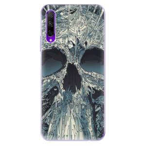 Odolné silikonové pouzdro iSaprio - Abstract Skull na mobil Honor 9X Pro