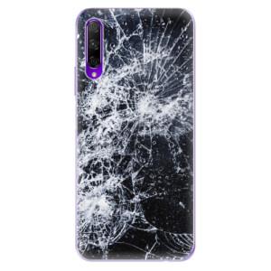 Odolné silikonové pouzdro iSaprio - Cracked na mobil Honor 9X Pro