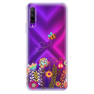 Odolné silikonové pouzdro iSaprio - Bee 01 na mobil Honor 9X Pro