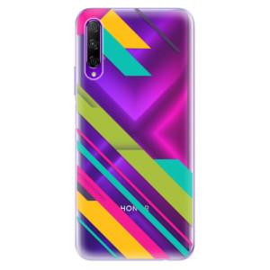 Odolné silikonové pouzdro iSaprio - Color Stripes 03 na mobil Honor 9X Pro