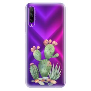Odolné silikonové pouzdro iSaprio - Cacti 01 na mobil Honor 9X Pro
