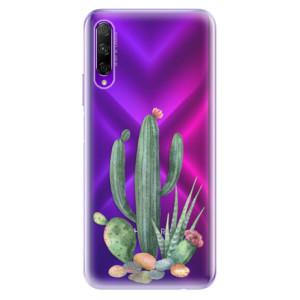 Odolné silikonové pouzdro iSaprio - Cacti 02 na mobil Honor 9X Pro