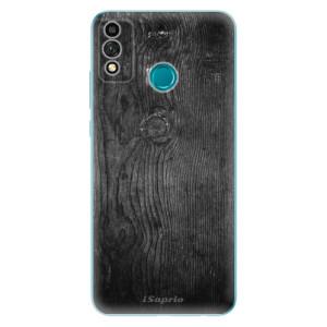 Odolné silikonové pouzdro iSaprio - Black Wood 13 na mobil Honor 9X Lite