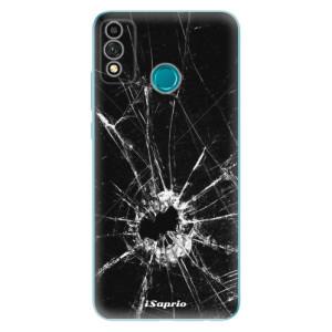 Odolné silikonové pouzdro iSaprio - Broken Glass 10 na mobil Honor 9X Lite