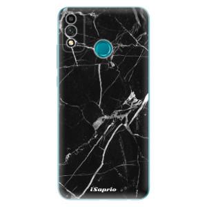 Odolné silikonové pouzdro iSaprio - Black Marble 18 na mobil Honor 9X Lite