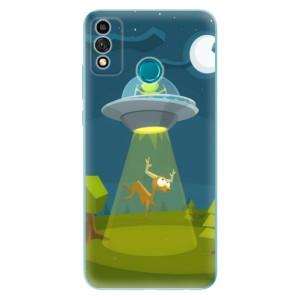 Odolné silikonové pouzdro iSaprio - Alien 01 na mobil Honor 9X Lite
