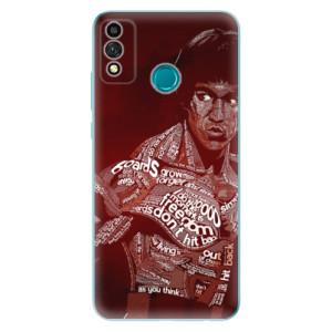 Odolné silikonové pouzdro iSaprio - Bruce Lee na mobil Honor 9X Lite