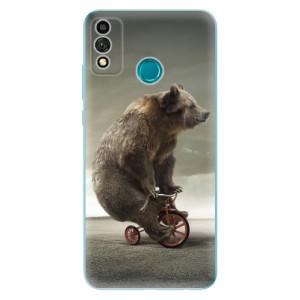 Odolné silikonové pouzdro iSaprio - Bear 01 na mobil Honor 9X Lite