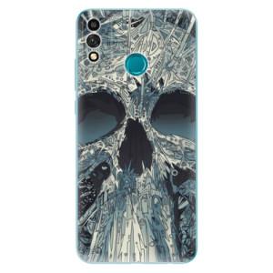 Odolné silikonové pouzdro iSaprio - Abstract Skull na mobil Honor 9X Lite