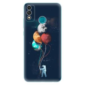 Odolné silikonové pouzdro iSaprio - Balloons 02 na mobil Honor 9X Lite