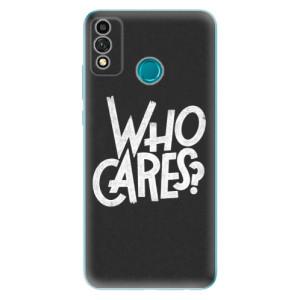 Odolné silikonové pouzdro iSaprio - Who Cares na mobil Honor 9X Lite
