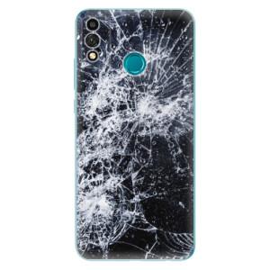 Odolné silikonové pouzdro iSaprio - Cracked na mobil Honor 9X Lite
