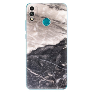 Odolné silikonové pouzdro iSaprio - BW Marble na mobil Honor 9X Lite