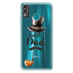 Odolné silikonové pouzdro iSaprio - Best Dad na mobil Honor 9X Lite