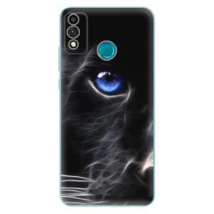Odolné silikonové pouzdro iSaprio - Black Puma na mobil Honor 9X Lite