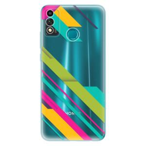 Odolné silikonové pouzdro iSaprio - Color Stripes 03 na mobil Honor 9X Lite