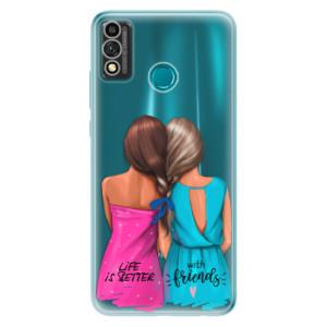 Odolné silikonové pouzdro iSaprio - Best Friends na mobil Honor 9X Lite