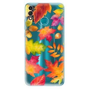 Odolné silikonové pouzdro iSaprio - Autumn Leaves 01 na mobil Honor 9X Lite