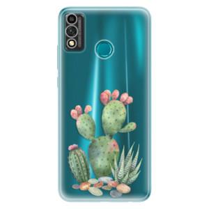 Odolné silikonové pouzdro iSaprio - Cacti 01 na mobil Honor 9X Lite