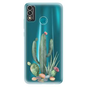 Odolné silikonové pouzdro iSaprio - Cacti 02 na mobil Honor 9X Lite