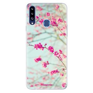 Odolné silikonové pouzdro iSaprio - Blossom 01 na mobil Samsung Galaxy A20s