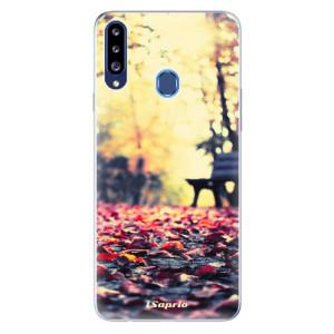Odolné silikonové pouzdro iSaprio - Bench 01 na mobil Samsung Galaxy A20s