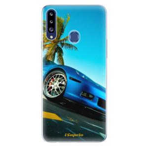 Odolné silikonové pouzdro iSaprio - Car 10 na mobil Samsung Galaxy A20s