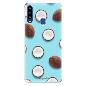 Odolné silikonové pouzdro iSaprio - Coconut 01 na mobil Samsung Galaxy A20s