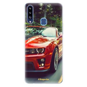 Odolné silikonové pouzdro iSaprio - Chevrolet 02 na mobil Samsung Galaxy A20s