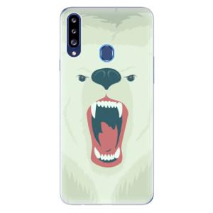Odolné silikonové pouzdro iSaprio - Angry Bear na mobil Samsung Galaxy A20s